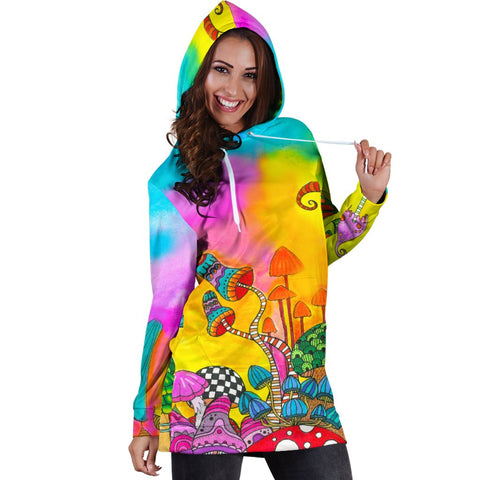 Magic Mushroom | Hooded dress