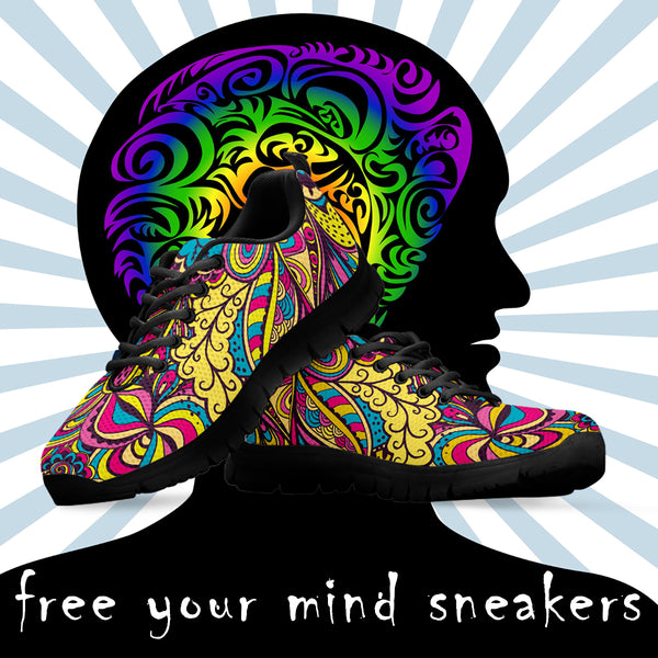Free your mind women sneakers