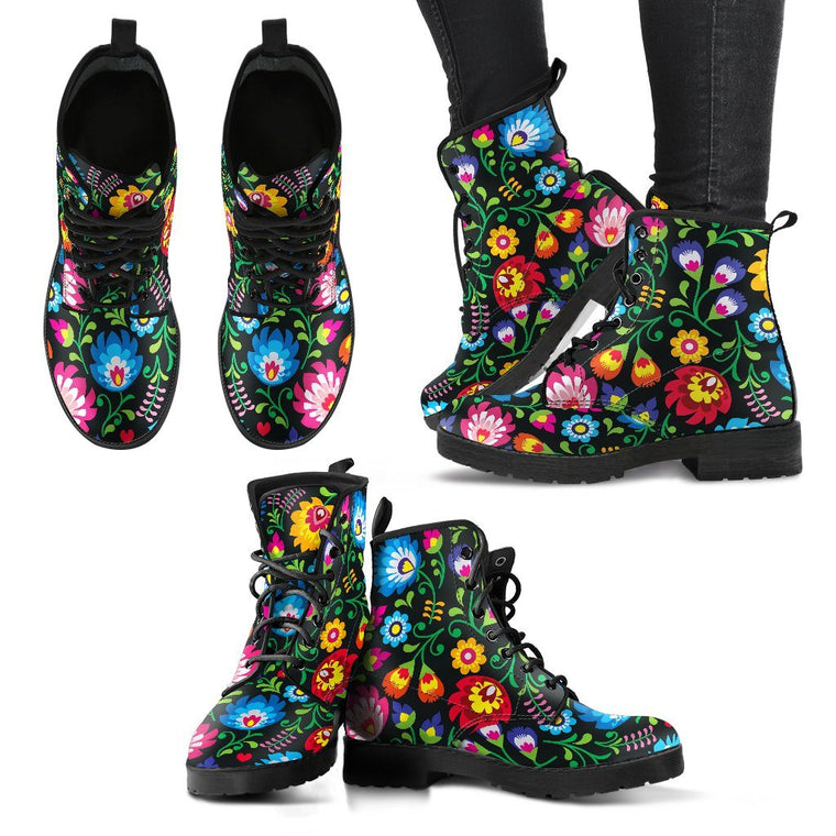 Anna's Flowers Boots