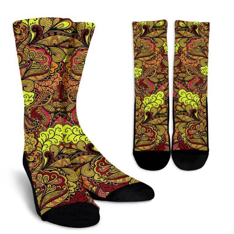 Autumn Love Socks