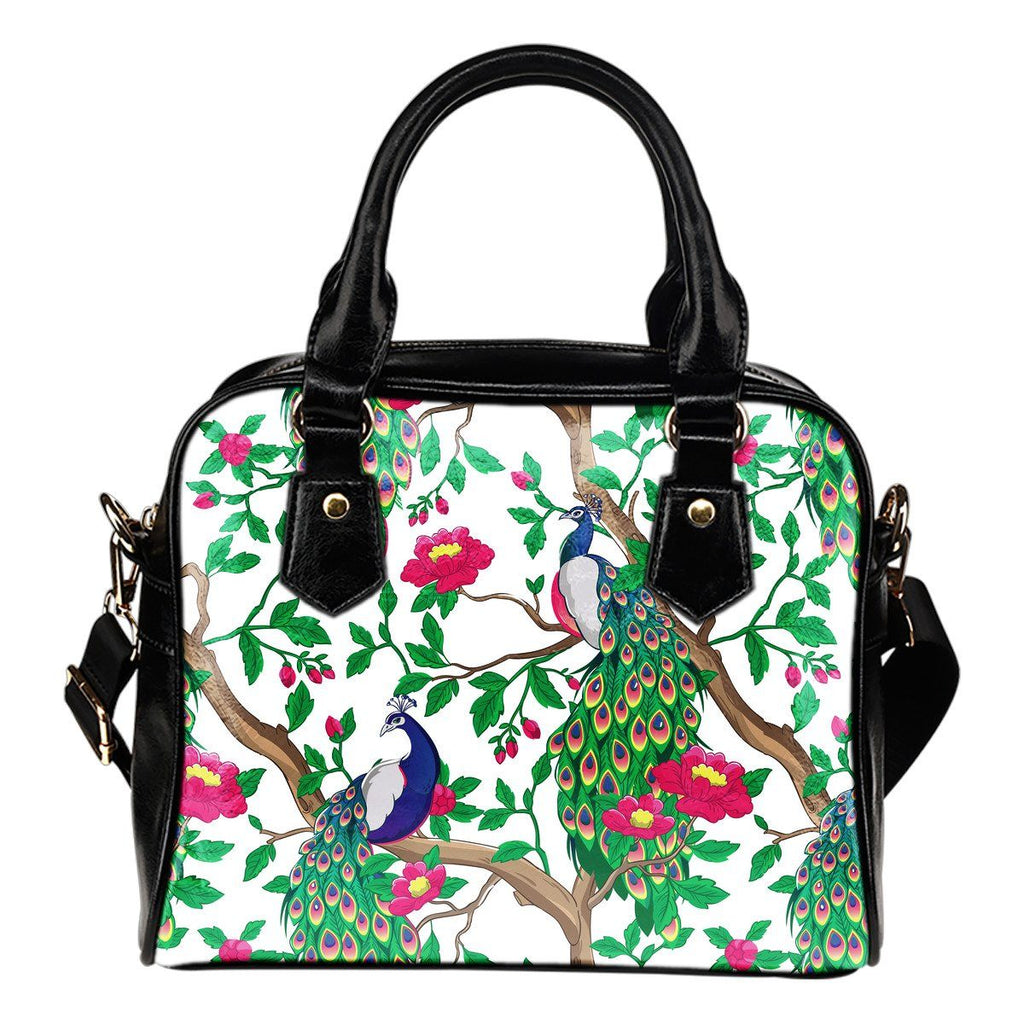 Bags - Beautiful Peacock Shoulder Handbag