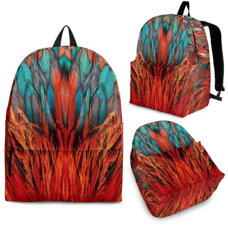 Bags - Flame Feathers Backpack
