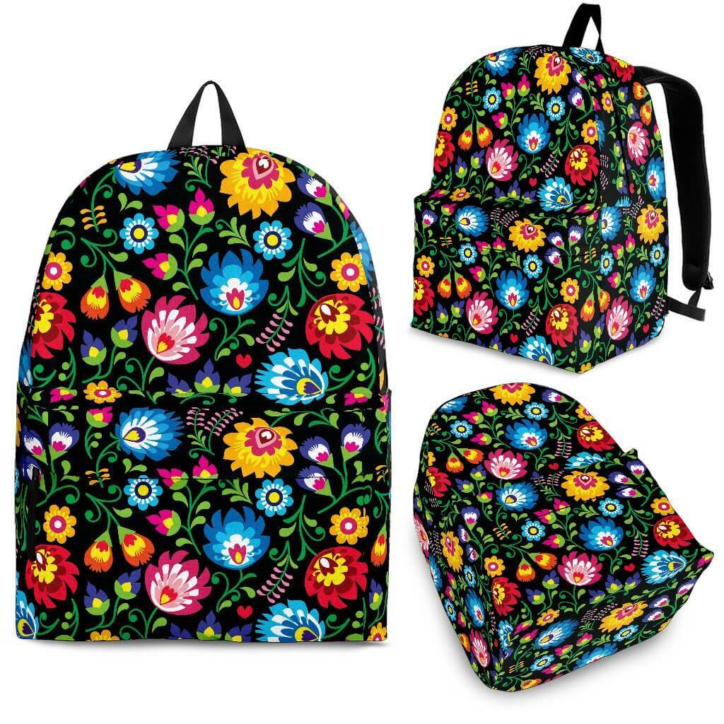 Bags - Floral Backpack