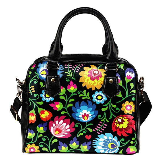 Bags - Floral Shoulder Hand Bag