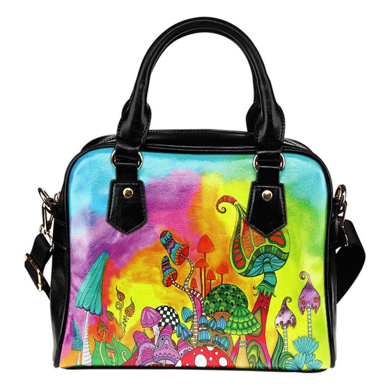 Bags - Magic Mushroom Shoulder Handbag