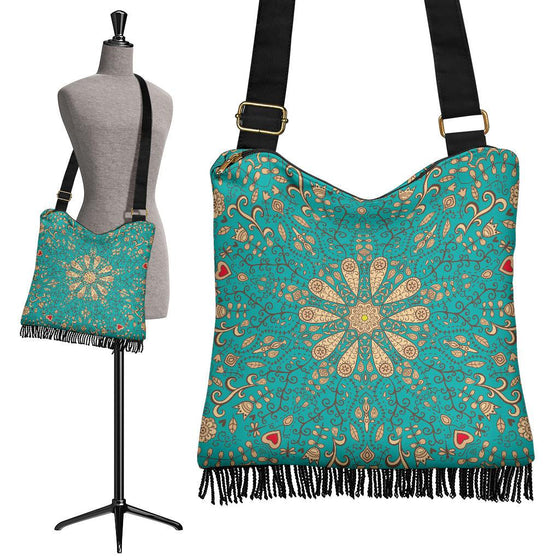 Bags - Peace Of Mind Mandala Crossbody Bag