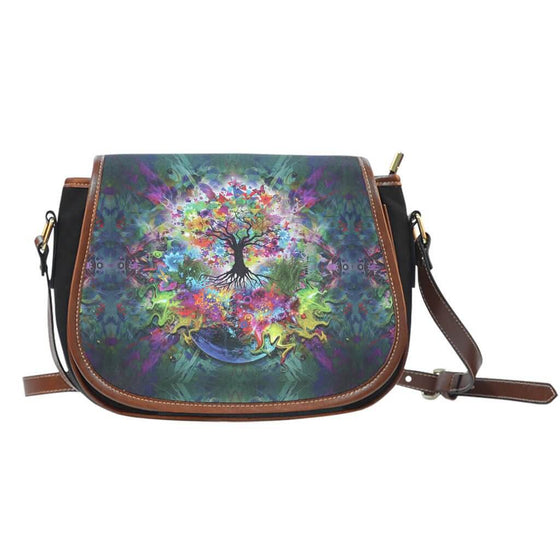 Bags - Tree Of Life Saddle Bag