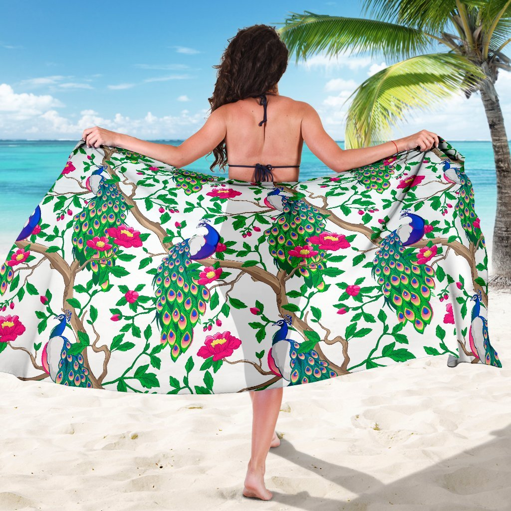 Beautiful Peacock Sarong