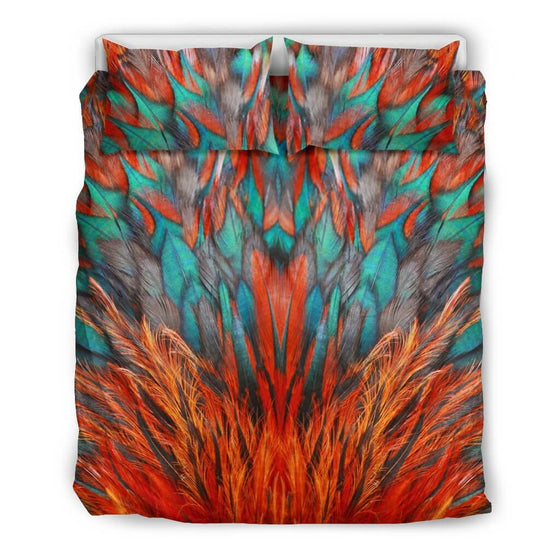 Bedding Set - Flame Feathers Bedding Set