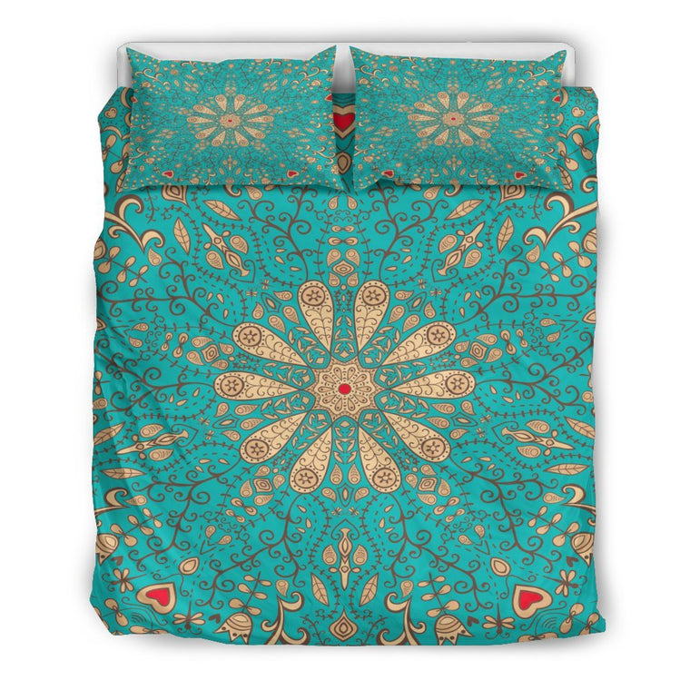 Bedding Set - Peaceful Mandala Bedding Set
