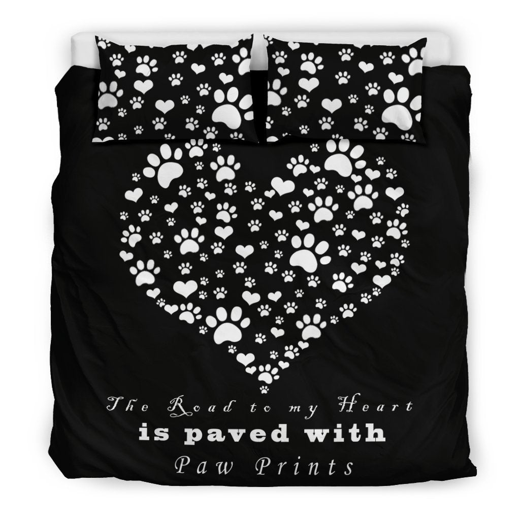 Bedding Set - The Road To My Heart Bedding Set