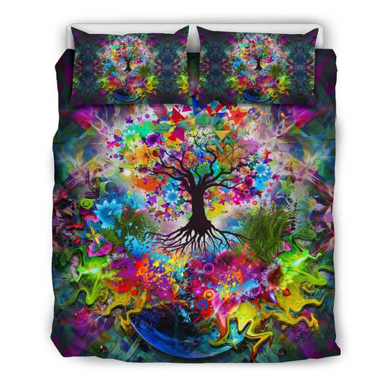 Bedding Set - Tree Of Life Bedding Set