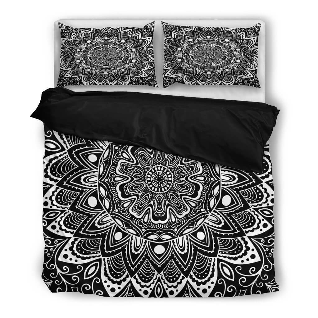 Black&White Mandala Bedding