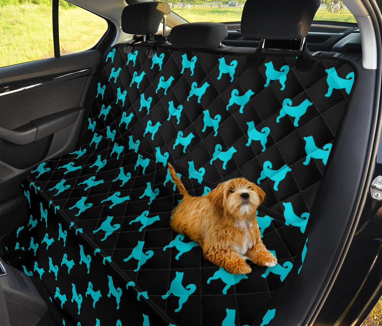 Blue Dogs Car Seat Covers