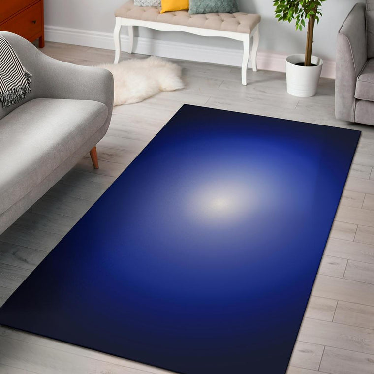 Blue Hole Area Rug