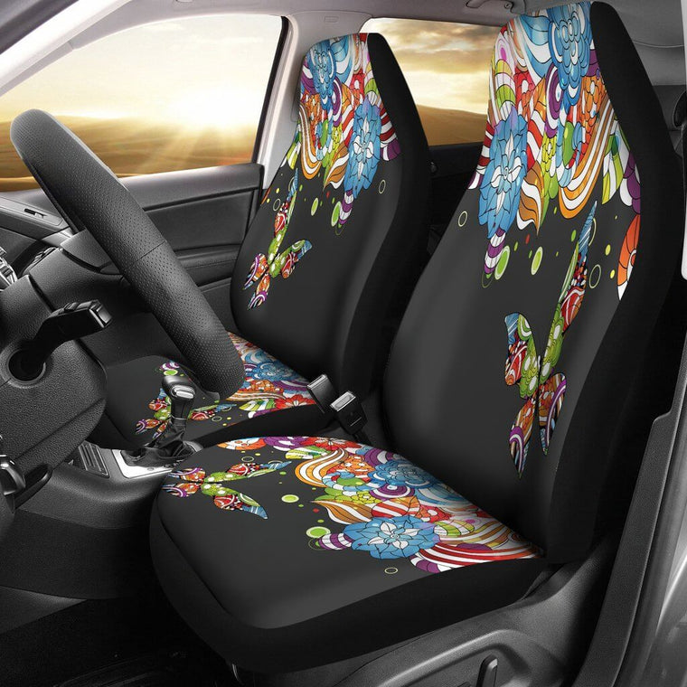 Butterfly Story Car Seat Covers