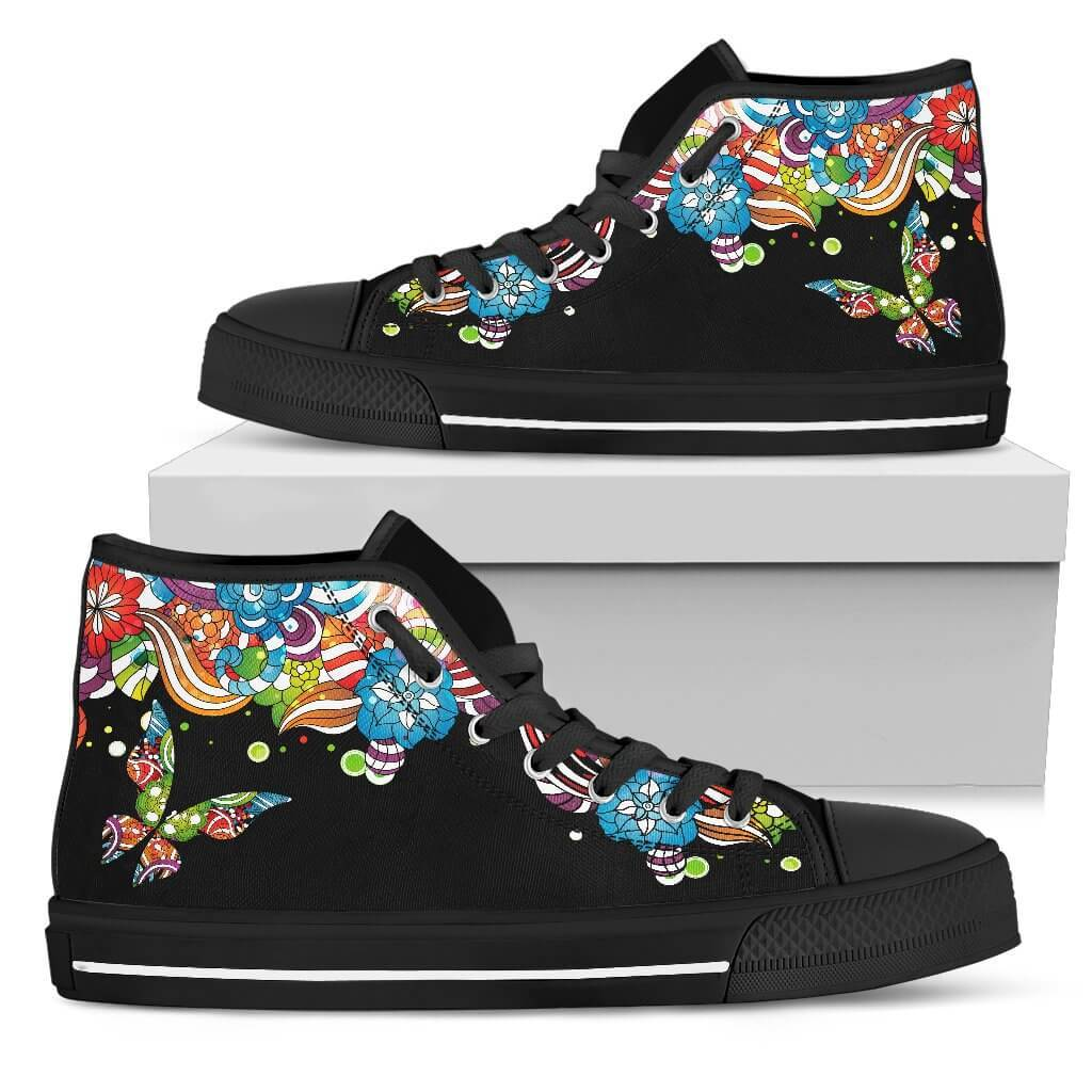 Butterfly Story High Top