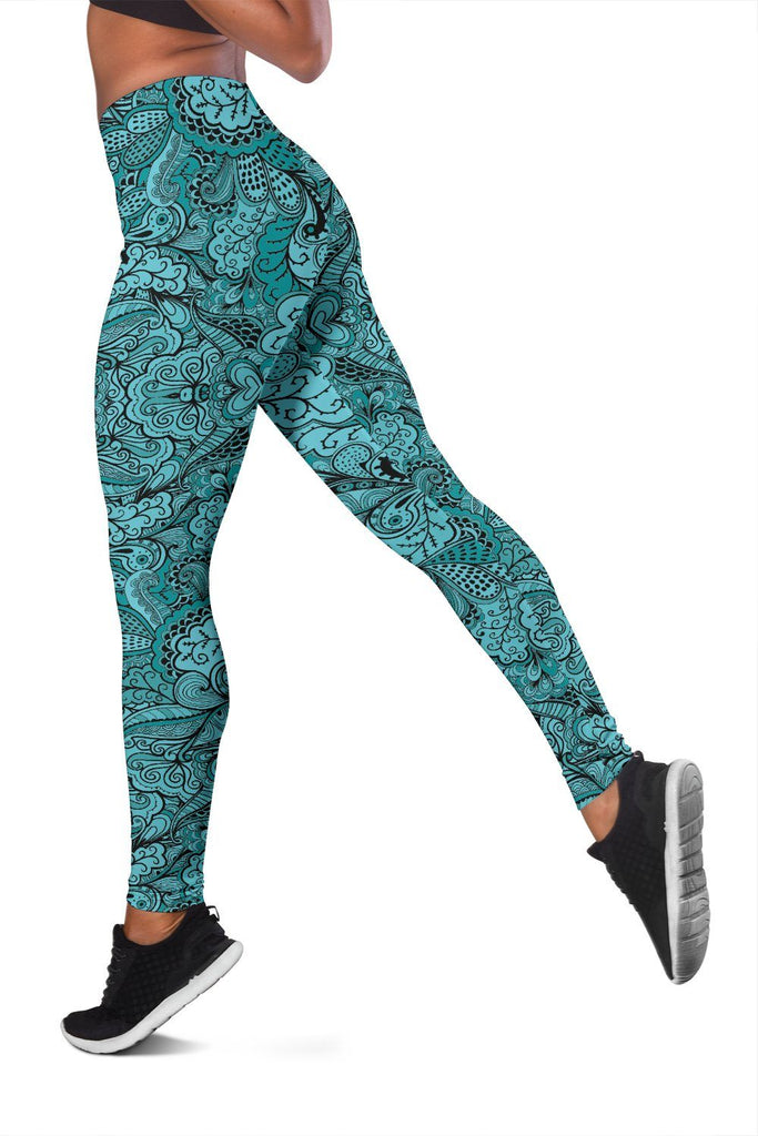 Calm In Blue Women's Leggings