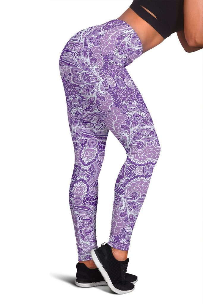 Calm In Purple Women's Leggings