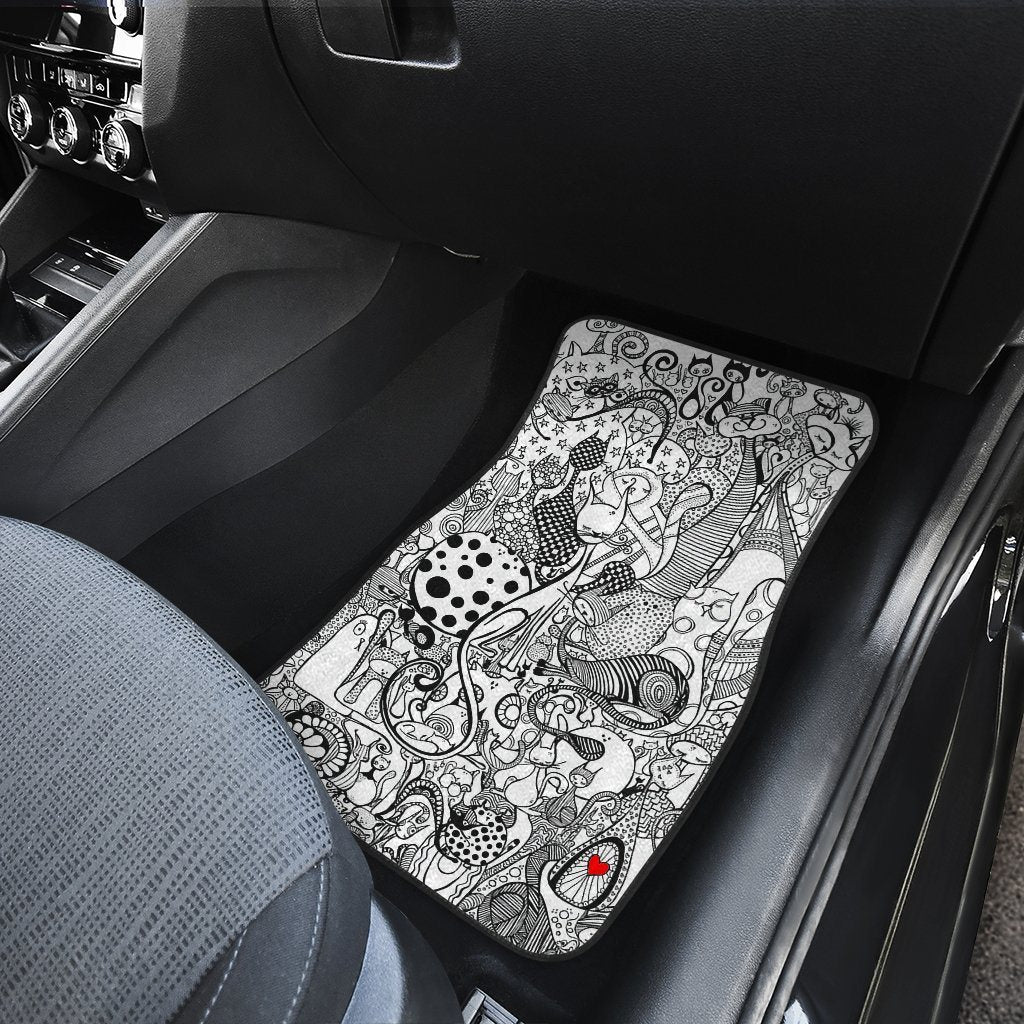 Cats Story Car Floor Mats