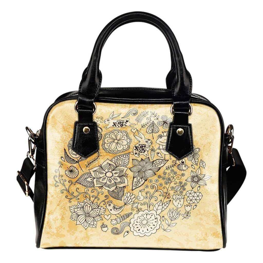 Circle Of Life Shoulder Handbag