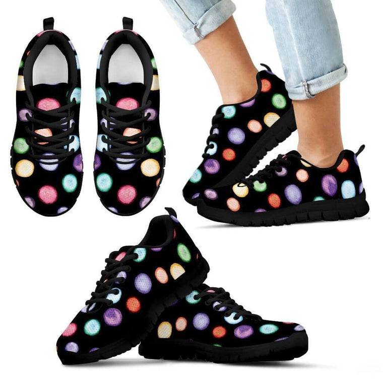 Color Bubbles Kid's Sneakers