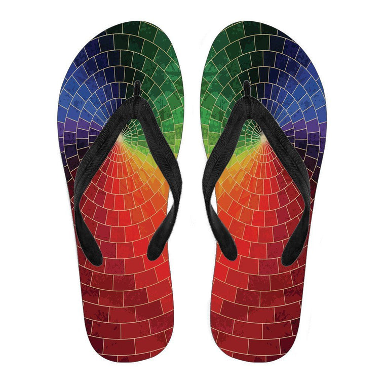 Color Spectrum Flip Flops