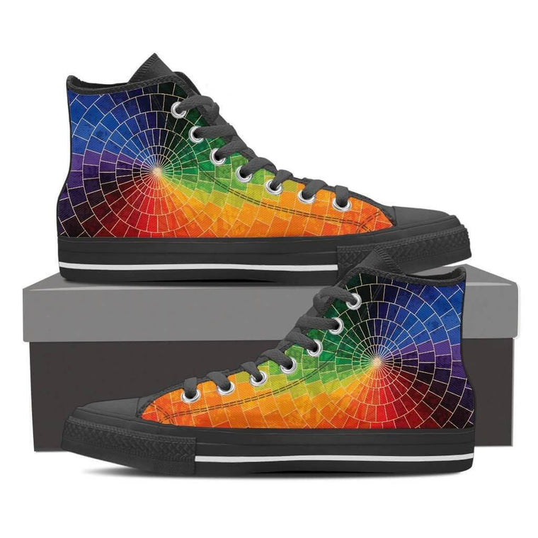Color Spectrum High Top