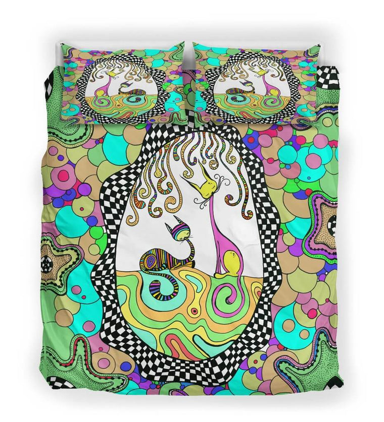 Colorful Cats Bedding Set