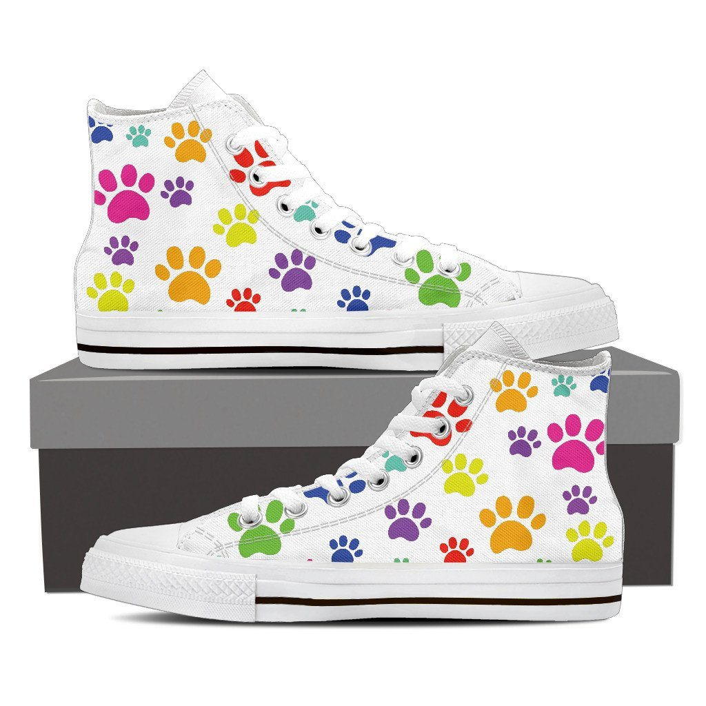 Colorful Paws High Top