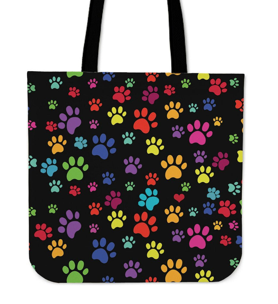 Colorful Paws Tote