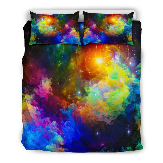 Colorful Universe Bedding