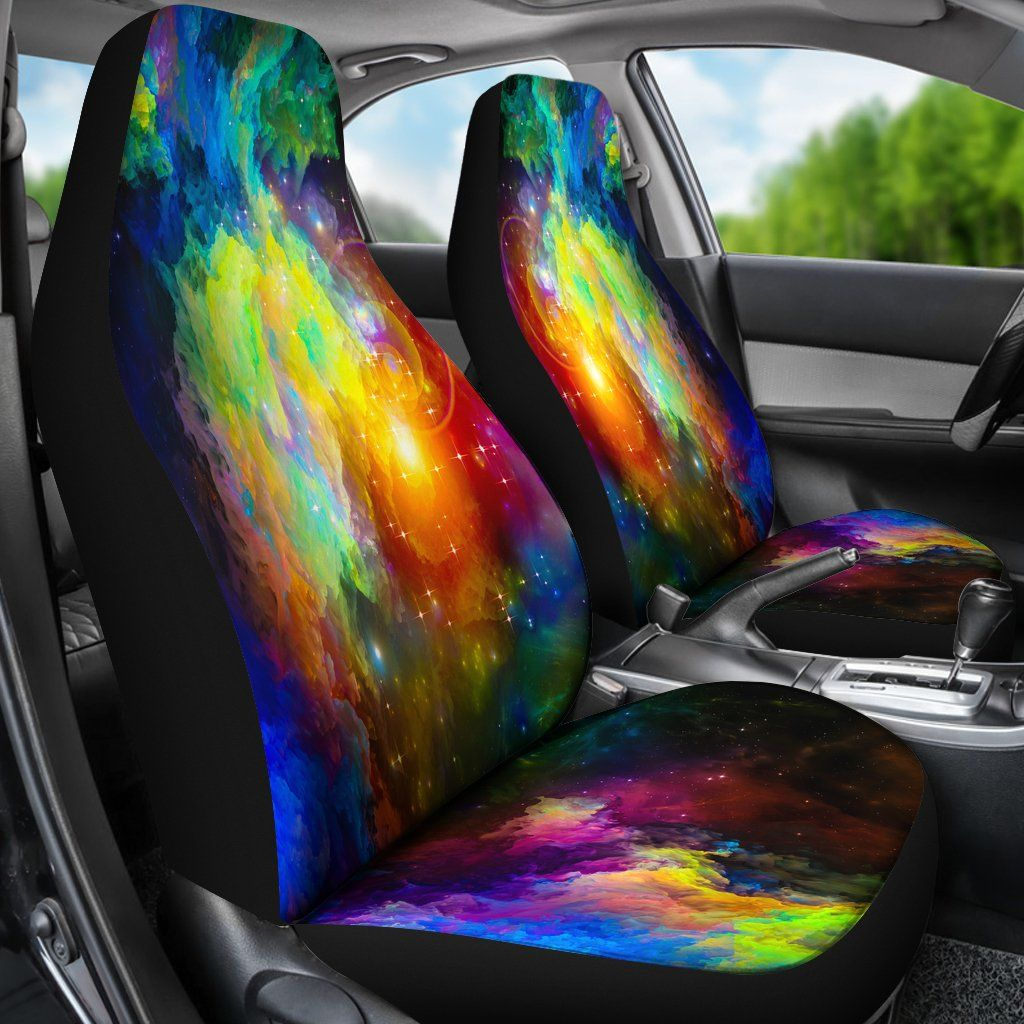 Colorful Universe Car Seat Covers