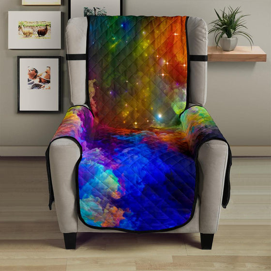 Colorful Universe Chair Sofa Cover