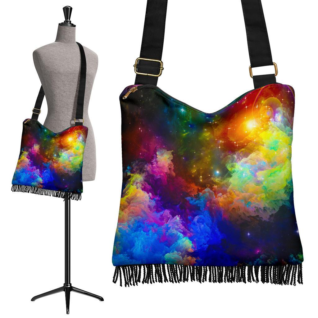 Colorful Universe Crossbody Bag