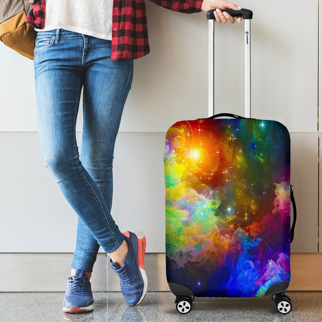 Colorful Universe Luggage Covers
