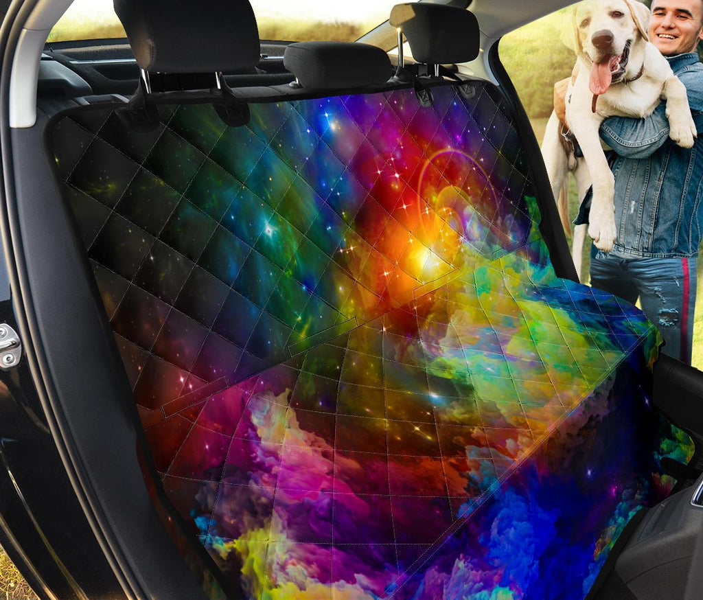 Colorful Universe Pet Seat Covers