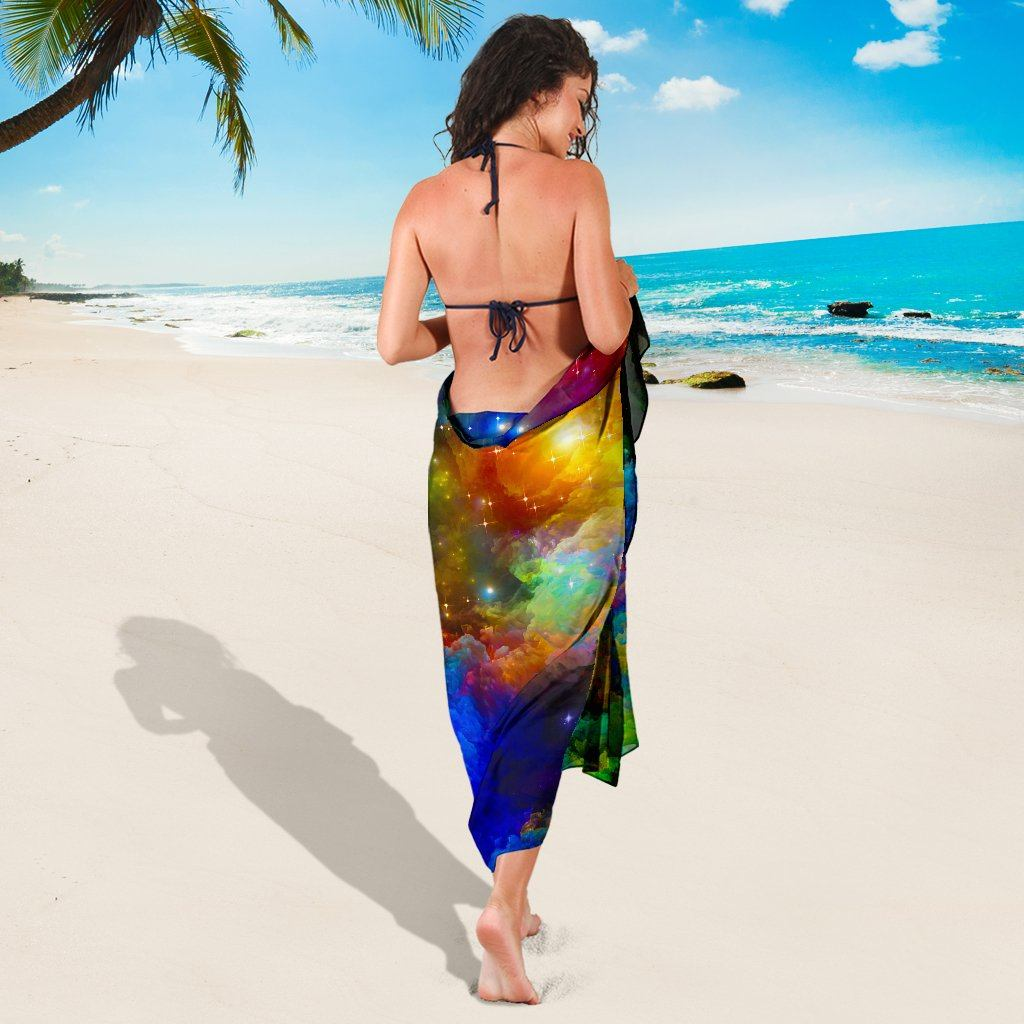 Colorful Universe Sarong