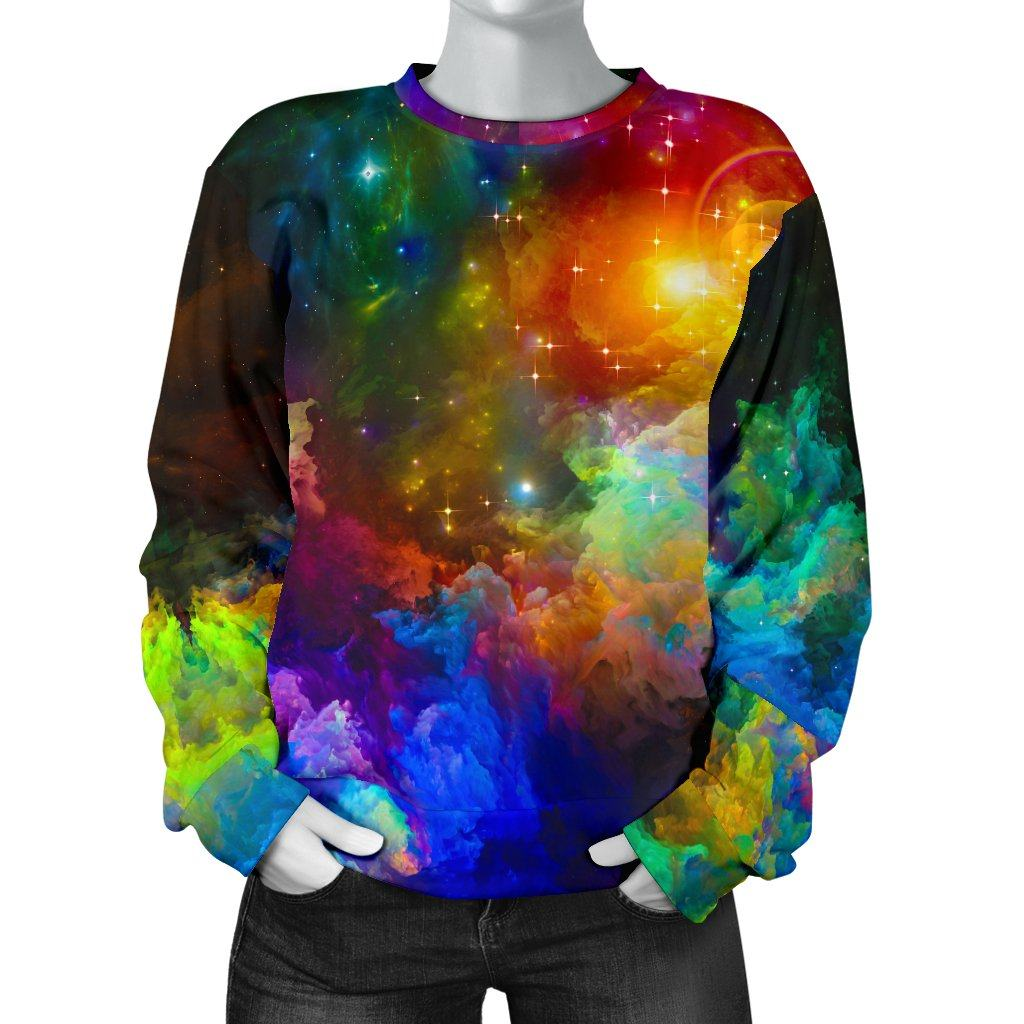 Colorful Universe Women's Sweater