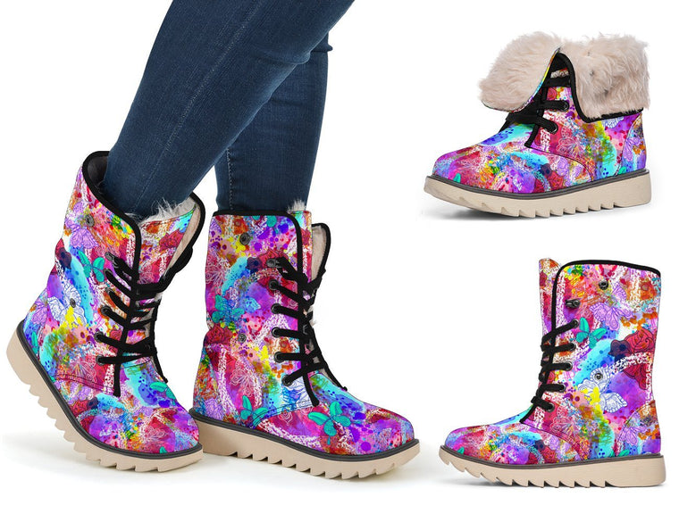 Colors Of Peace Polar Boots