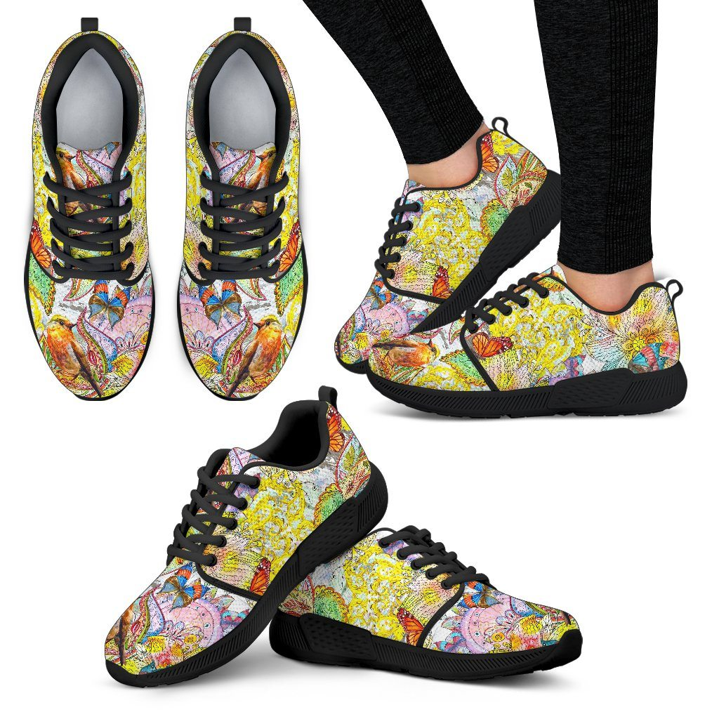 Colors Of Spring Women's Athletic Sneakers