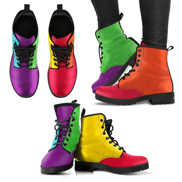 Colors Of The Rainbow Boots