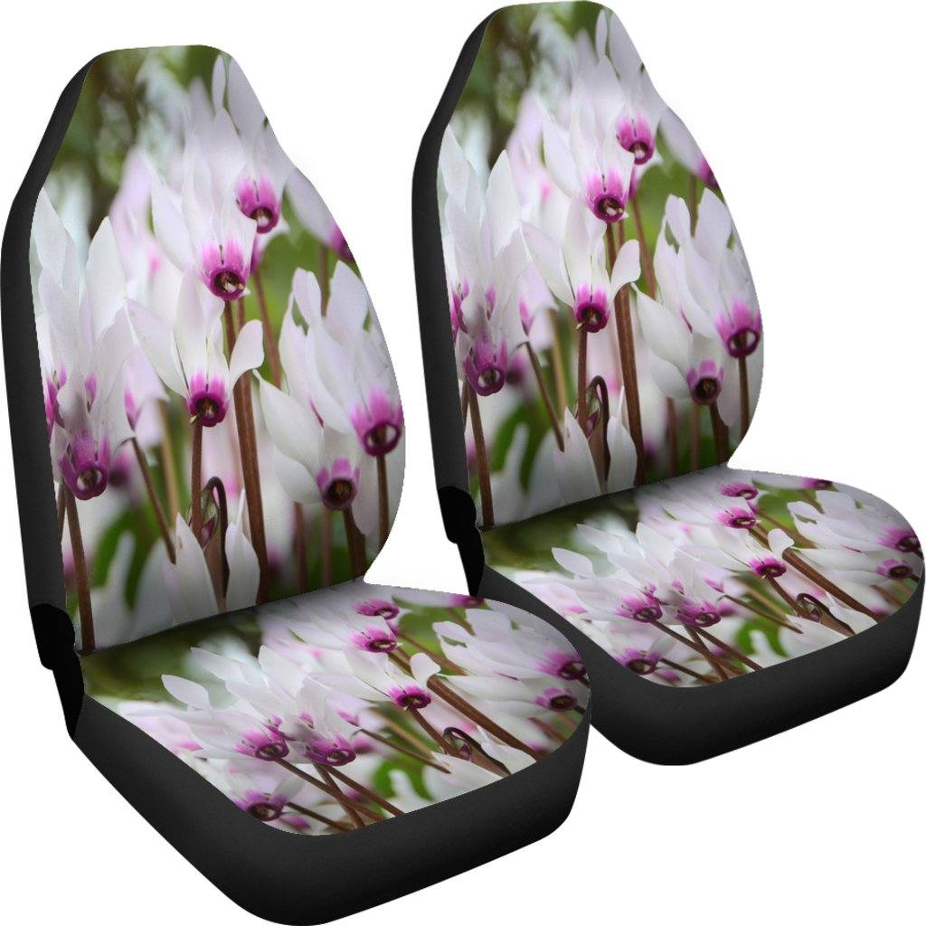 Cyclamens Car Seat Covers