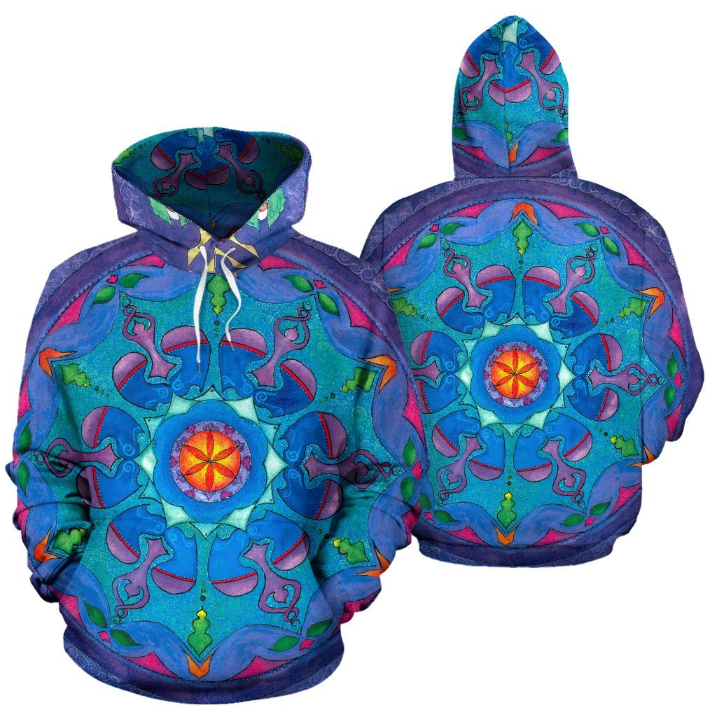 Dance Of The Heart Mandala Hoodie