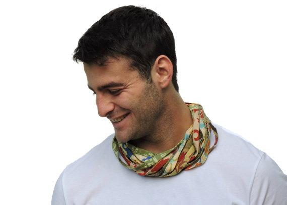 Desert Winds Men's Scarf