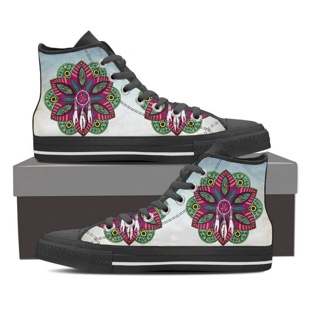 Dream-catcher Mandala High Top