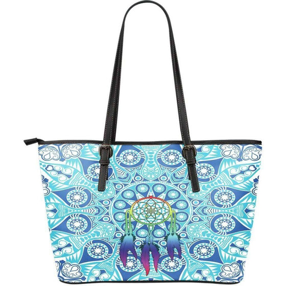 Dream Catcher PU Leather Tote