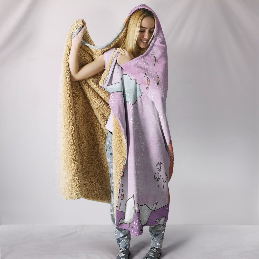 Dream Land Hooded Blanket