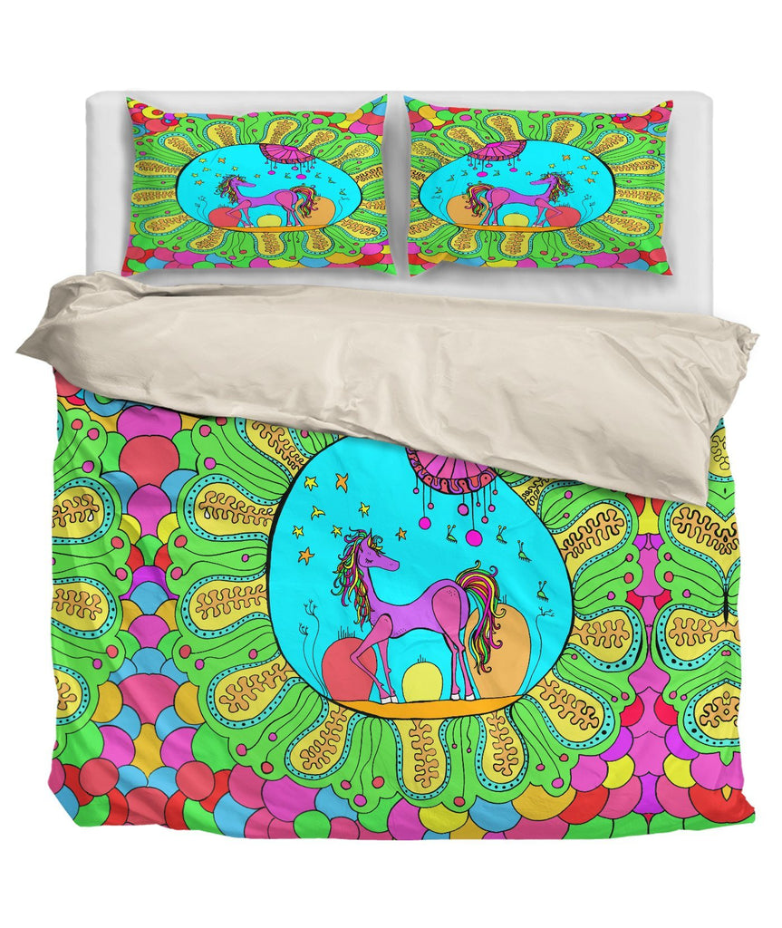 Dreamy Pony Bedding Set