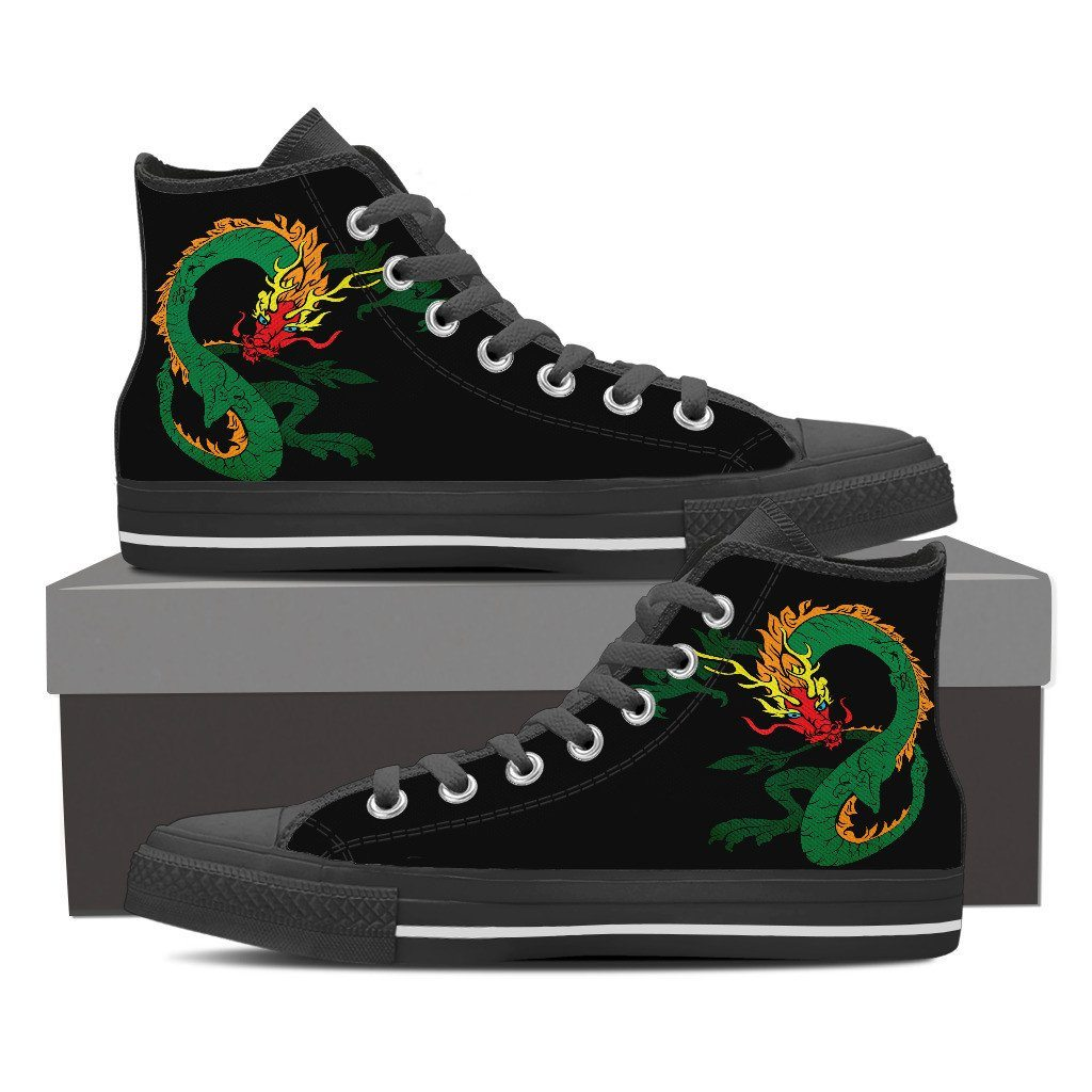 Flame Dragon High Top